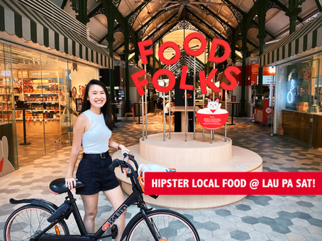 Must-try Foods at Lau Pa Sat (Food Folks), Singapore!