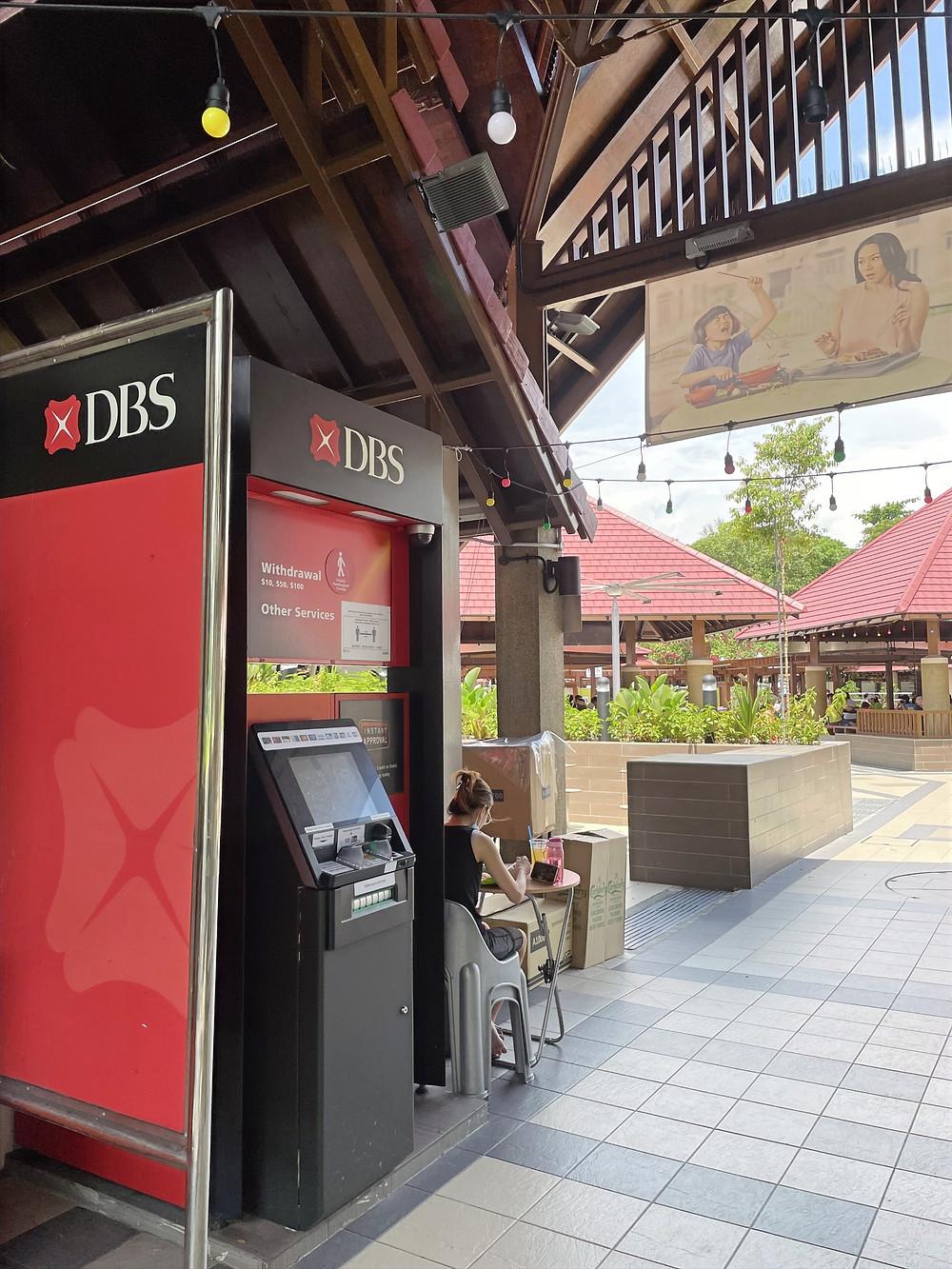 DBS ATM machine