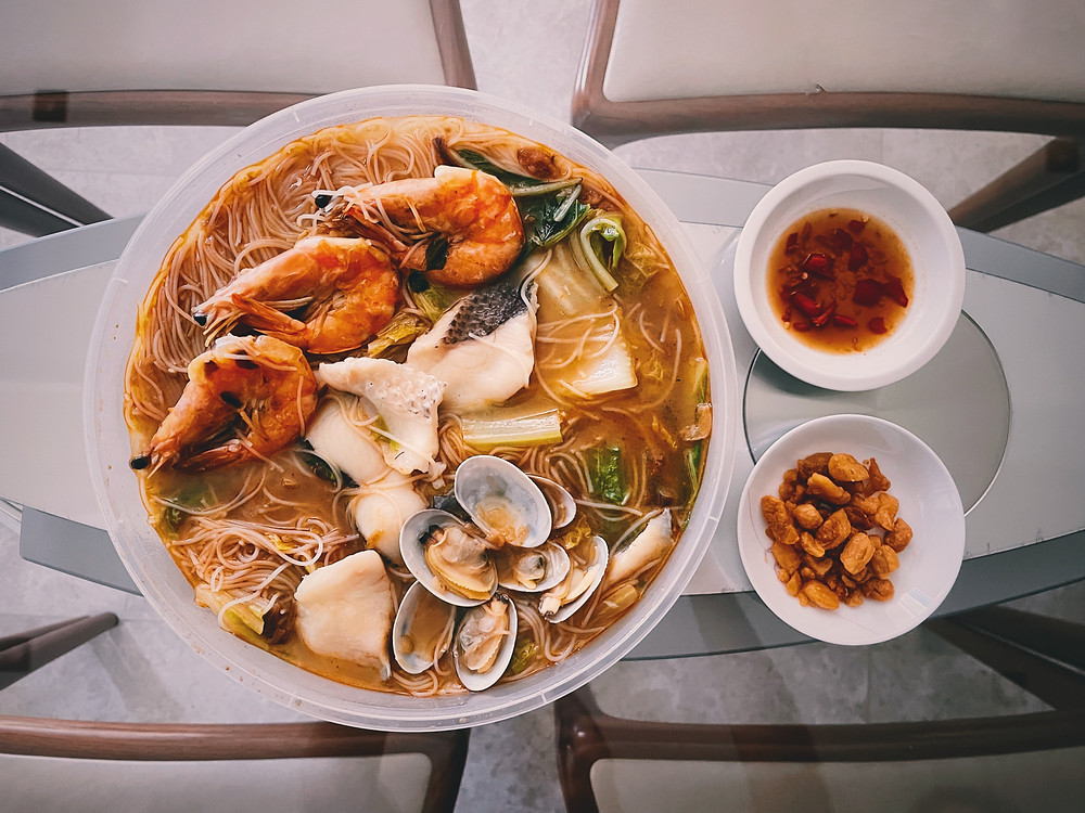 Seafood White Beehoon from Woon Woon Pek Beehoon