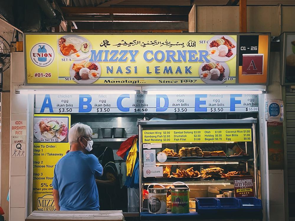 Mizzy Corner Nasi Lemak