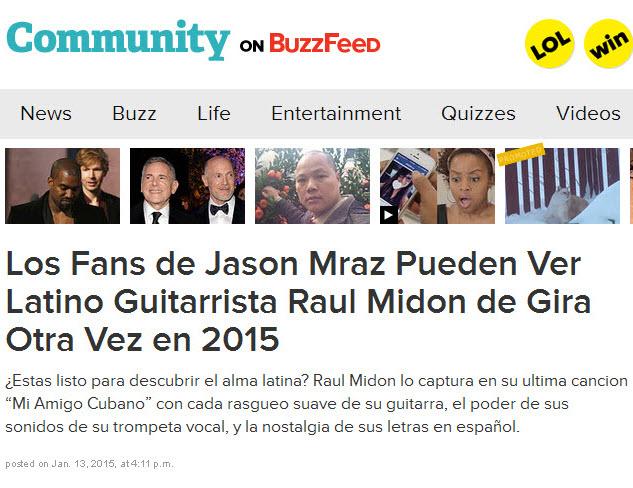 Buzzfeed-Viral Blogging Post-Spanish