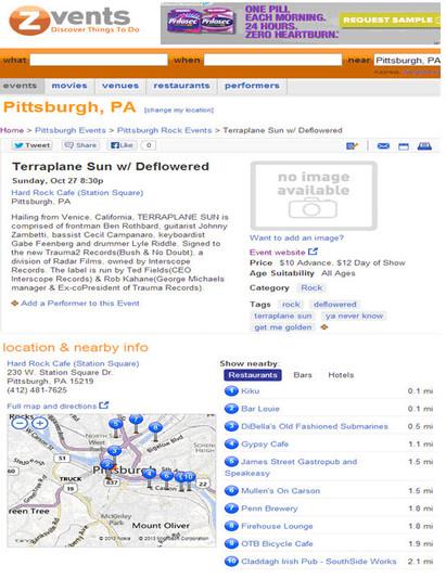 Zvents-Pittsburgh