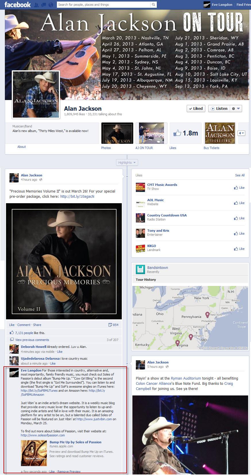 Tastemaker FB Post-Alan Jackson