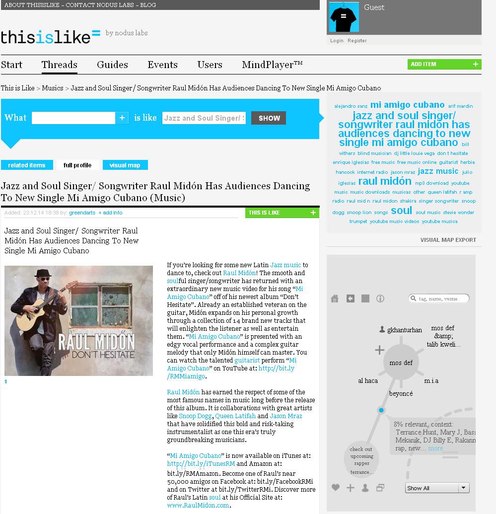 ThisIsLike - Viral Bloggign Post