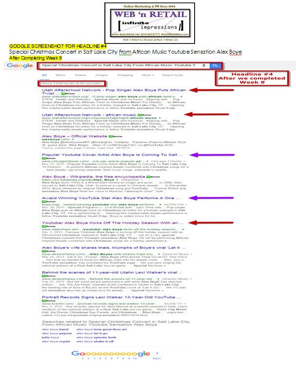 Google Front Page-Salt Lake City #4