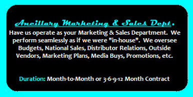 Ancillary Marketing and Sales Department