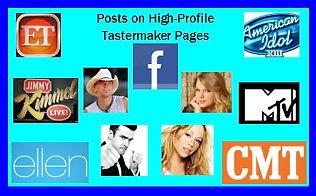 Tastemaker Facebook Posts