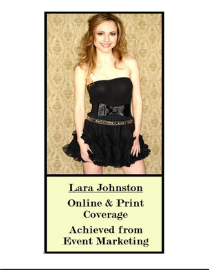 For Lara Johnston