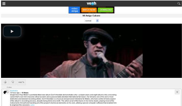 VEOH - Video Blog Post