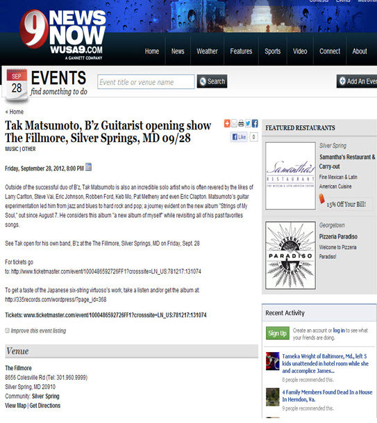 Channel 9 News-Silver Spring, MD