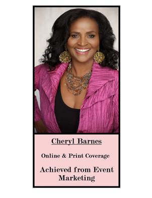 For Cheryl Barnes