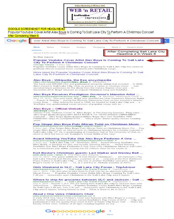 Google Front Page-Salt Lake City #2