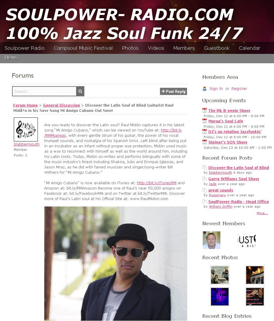 Soulpower Radio-Viral Blogging Post