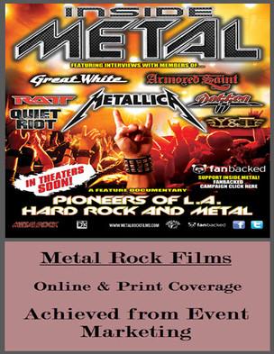 For Metal Rock Films