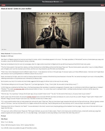 Spokesman Review Online