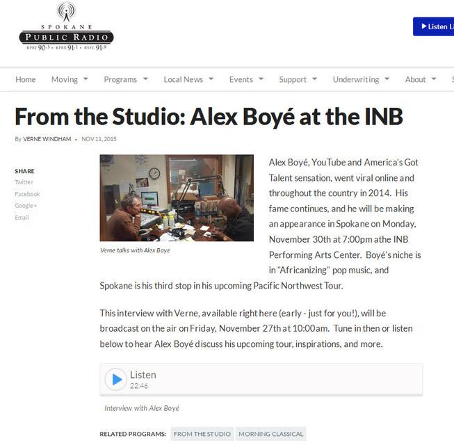KPBX Public Radio-Spokane