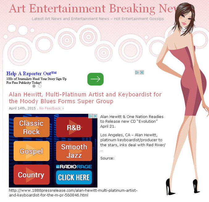 Arts & Entertainment News