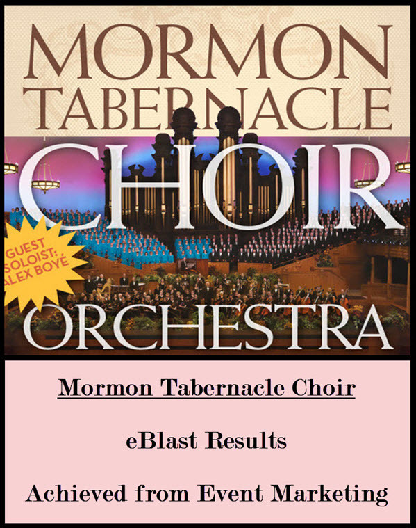 For Mormon Tabernacle Choir