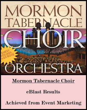 For Mormon Tabernacle Choir