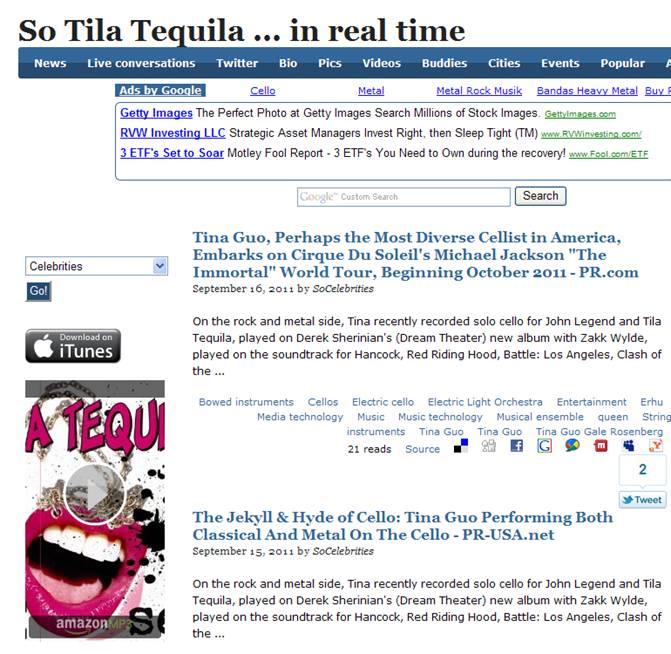 PR.com on SoCelebrities-Tila Tequila