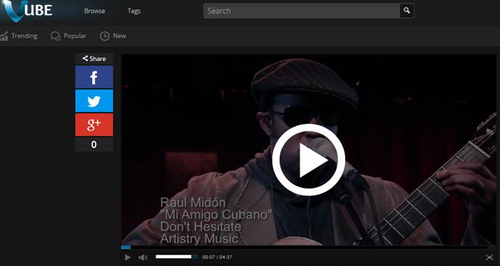 VUBE - Video Blog Post