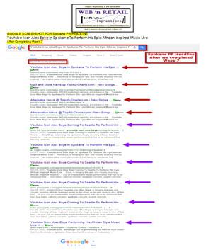 Google Front Page- Spokane