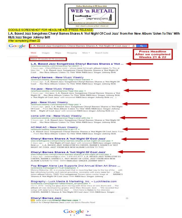 Google Front Page-Ventura, CA