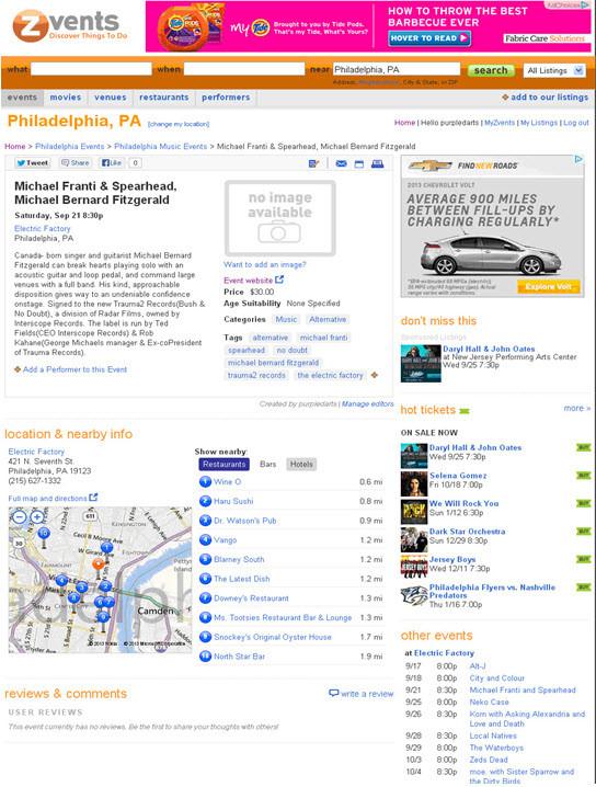 Zvents-Philadelphia