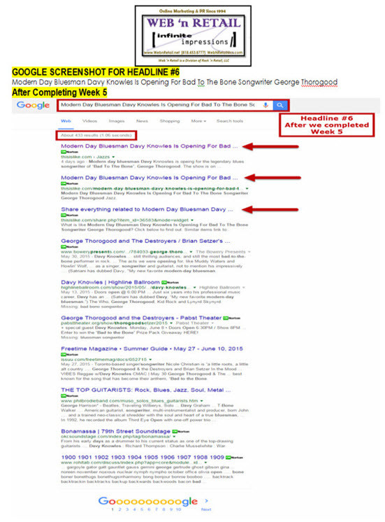 Google Front Page #2