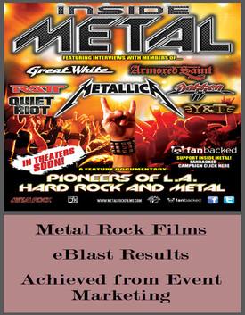 For Inside Metal Film & DVD Release