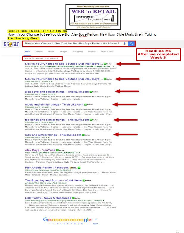 Google Front Page-Yakima #4