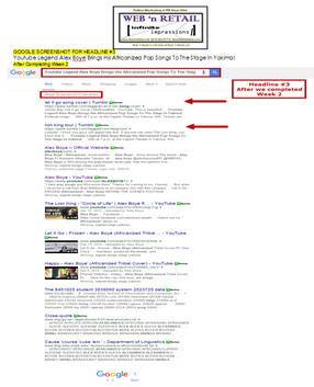 Google Front Page-Yakima, WA