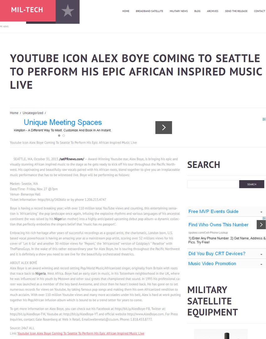Military News-Seattle