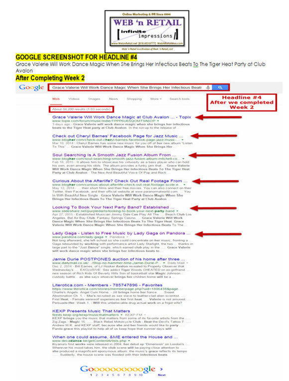 Google Front Page #4