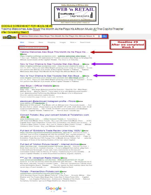 Google Front Page-Yakima #5