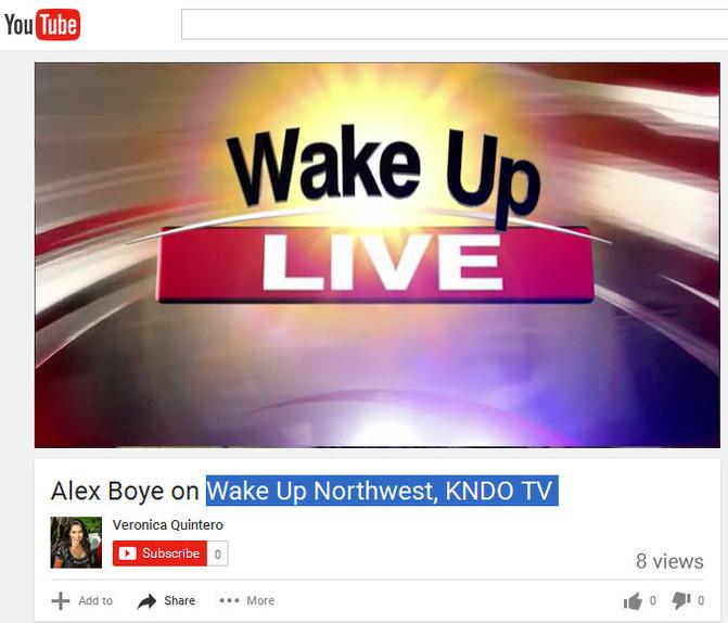 KNDO-NBC-Wake Up Northwest-TriCities