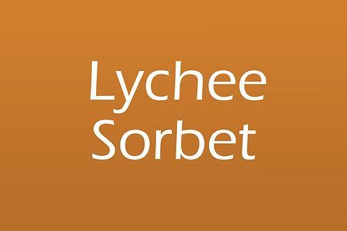 Lychee Sorbet (5 Litre Tub)
