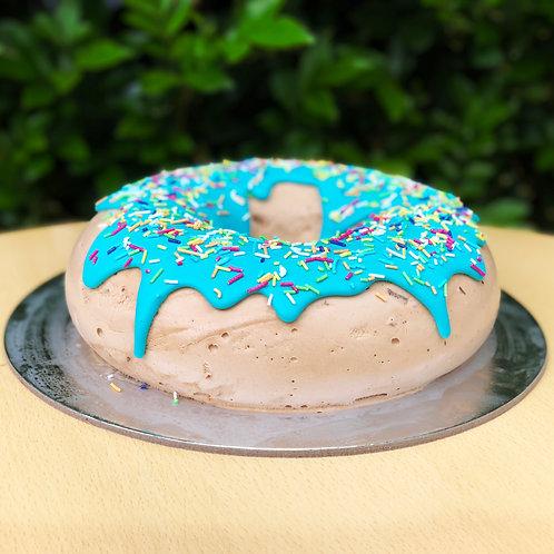 Caramilk Donut Blue