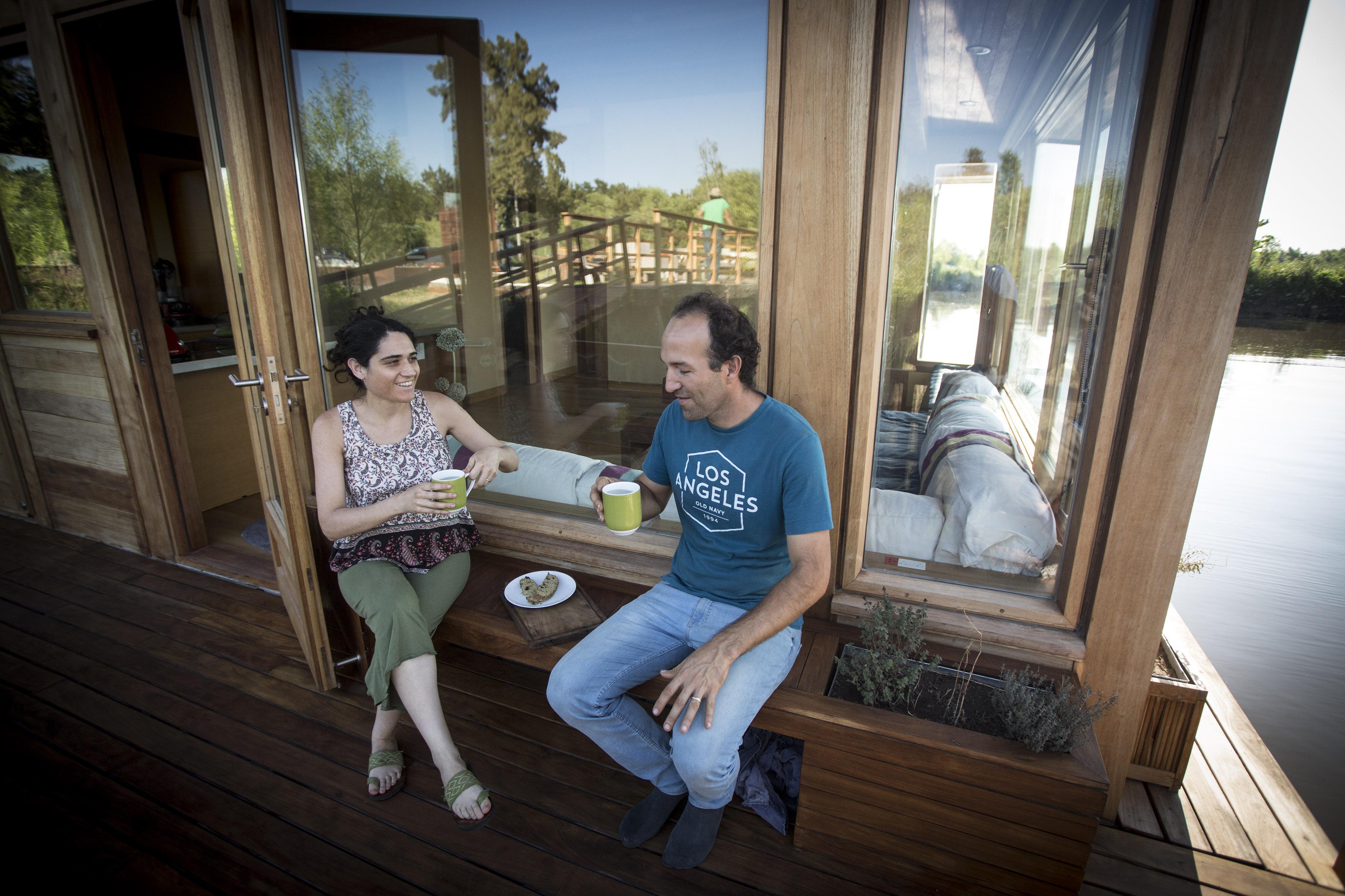 Un té en el porche