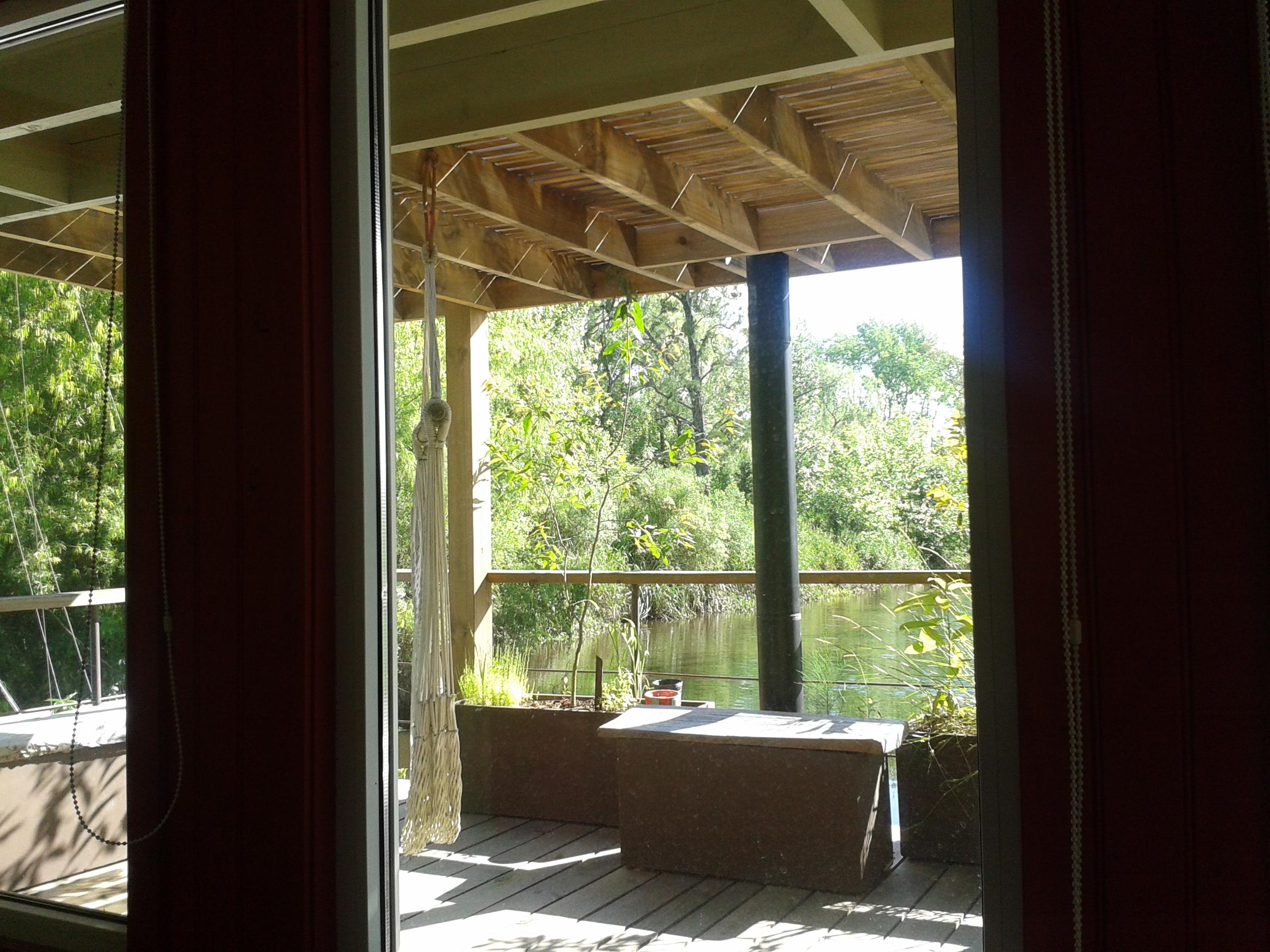 Miní+ La terraza desde el cuarto