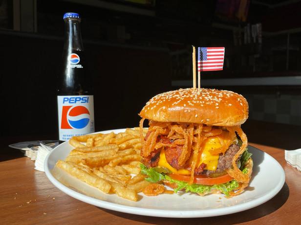 Art's Double Dogg Dare You Burger