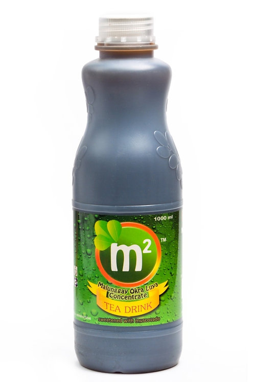M2 Tea Drink Concentrate 1L w/ Malunggay, Okra, and Luya
