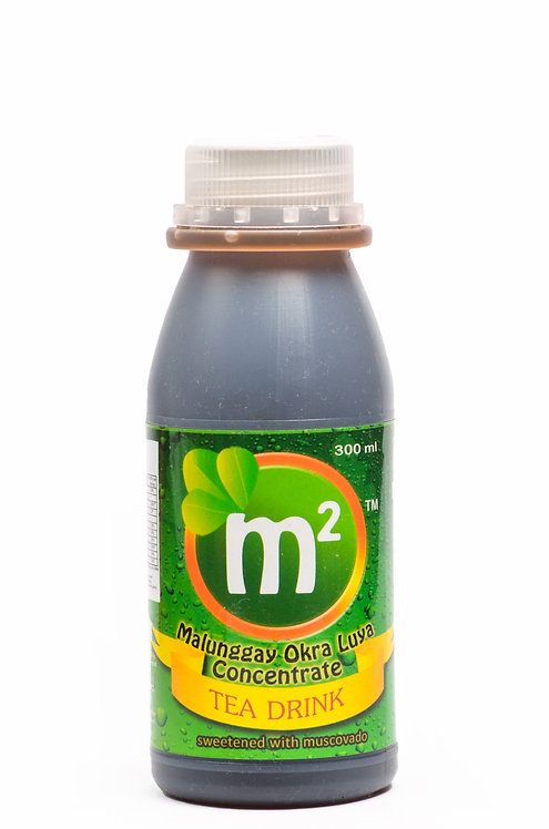 M2 Tea Drink Concentrate 300mL w/ Malunggay, Okra, and Luya