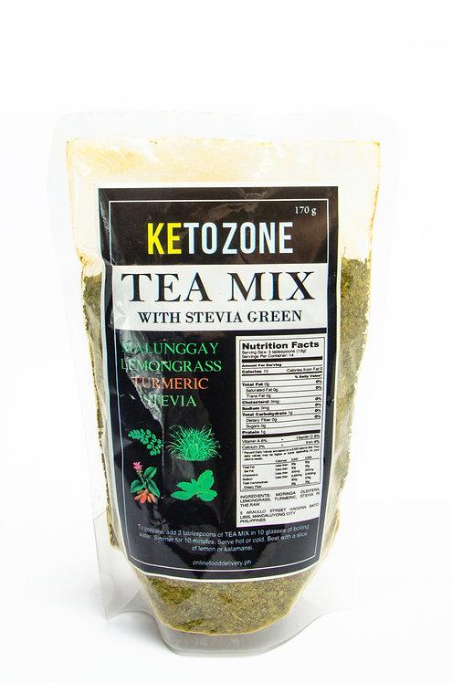 Tea Mix with Stevia Green Flakes