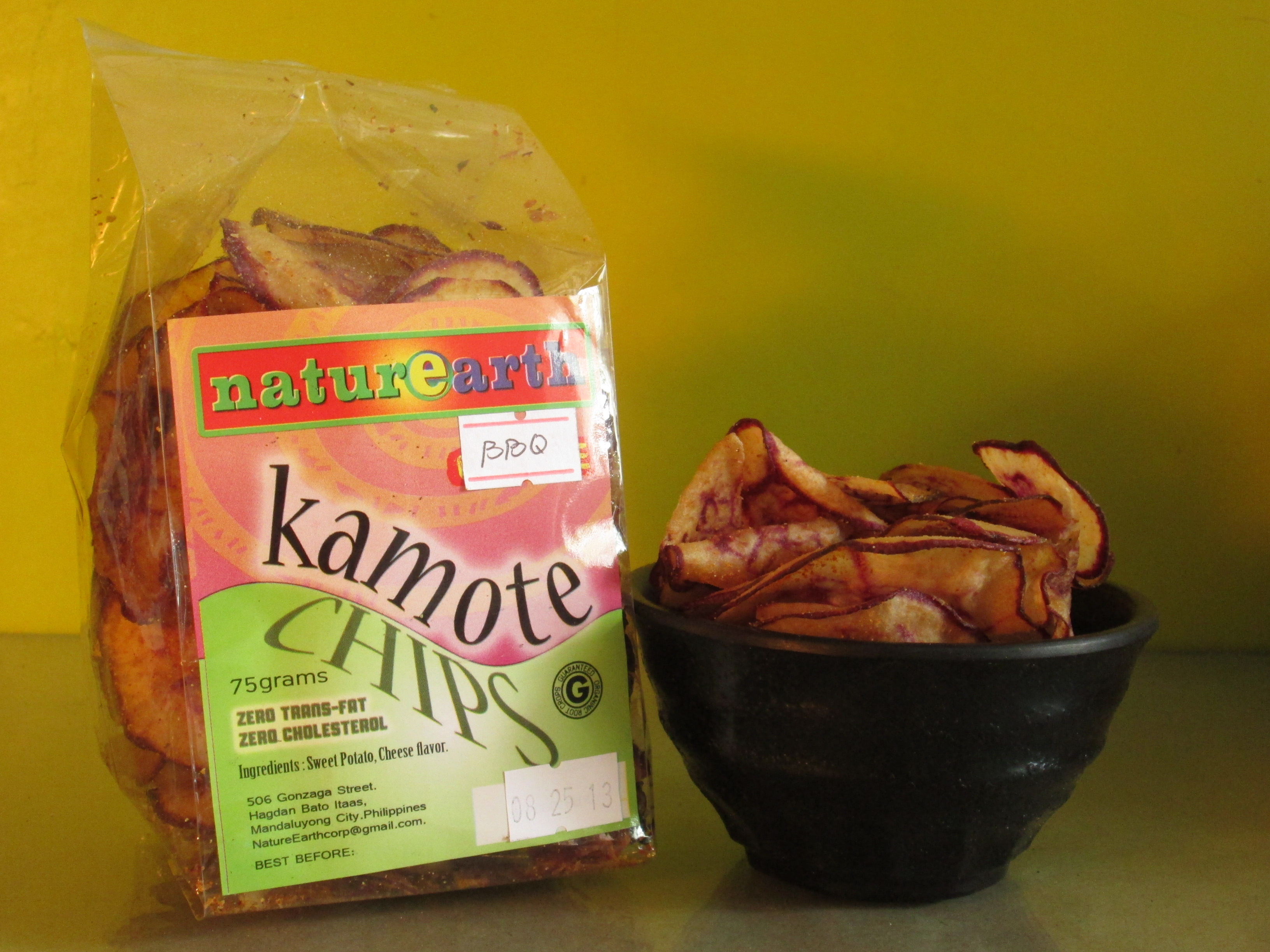 Camote Chips, 75 grams  P40.00