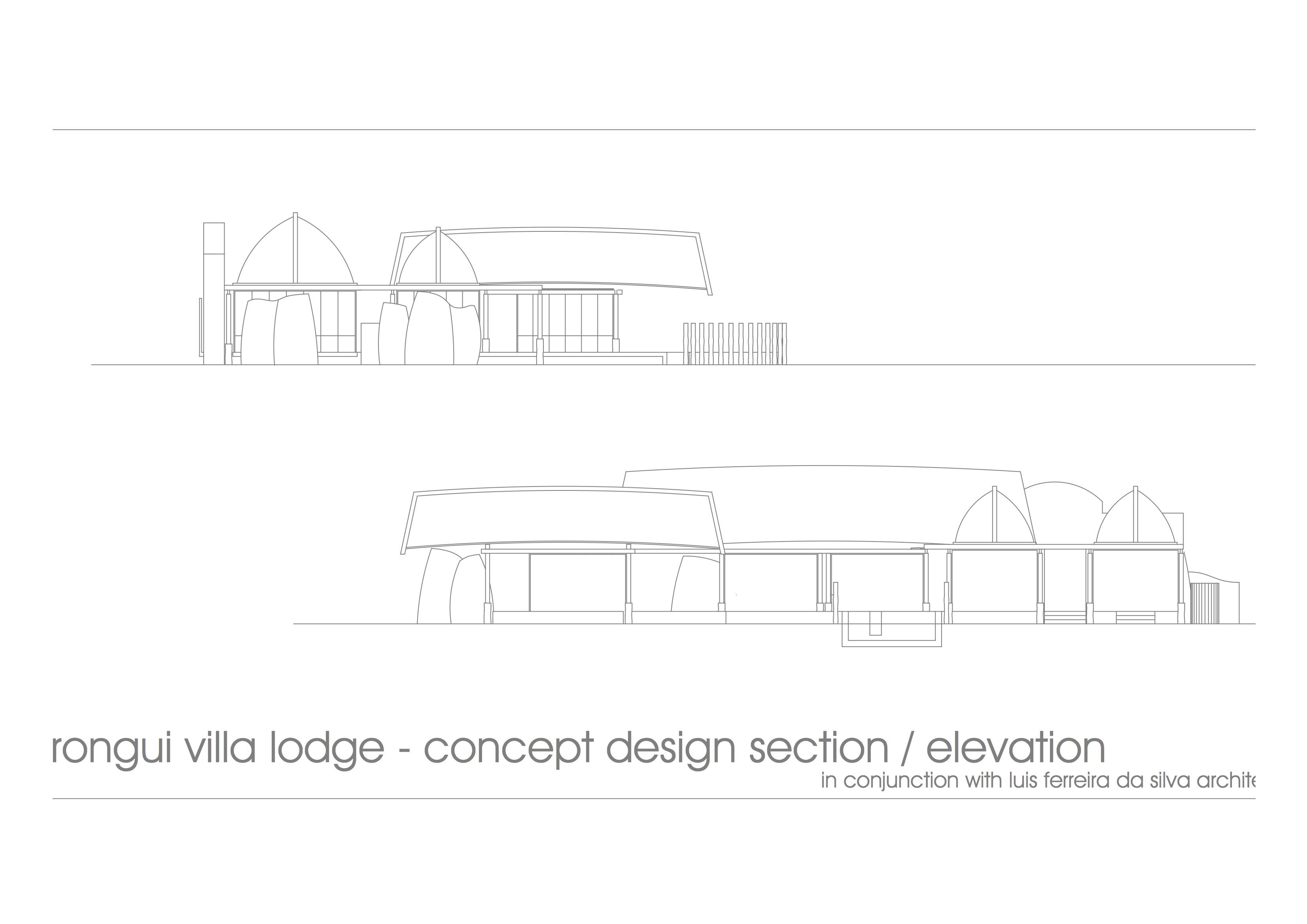 Rongui Villa - design concept