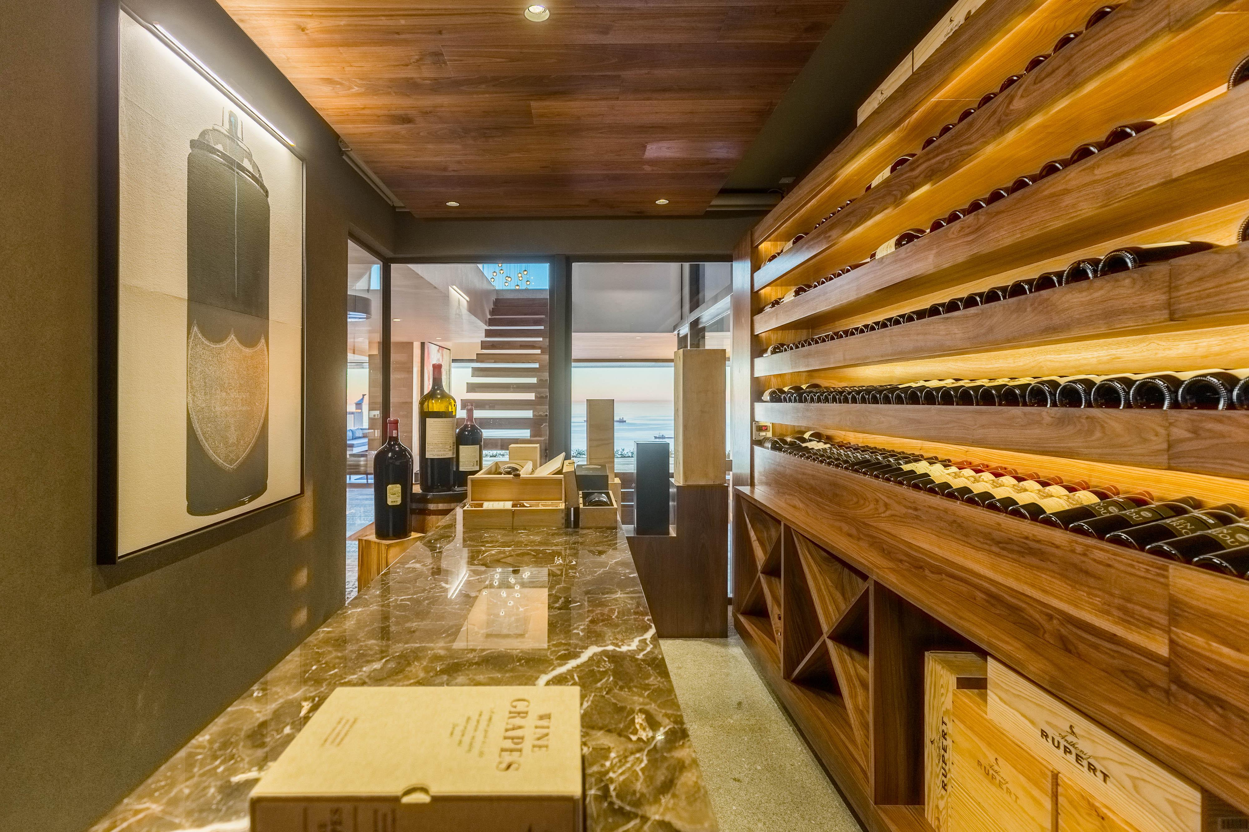 Sea Lion - Wine Cellar