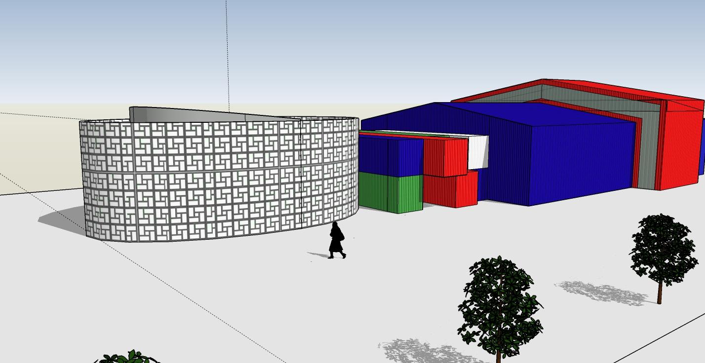 Levana School - concept perspective