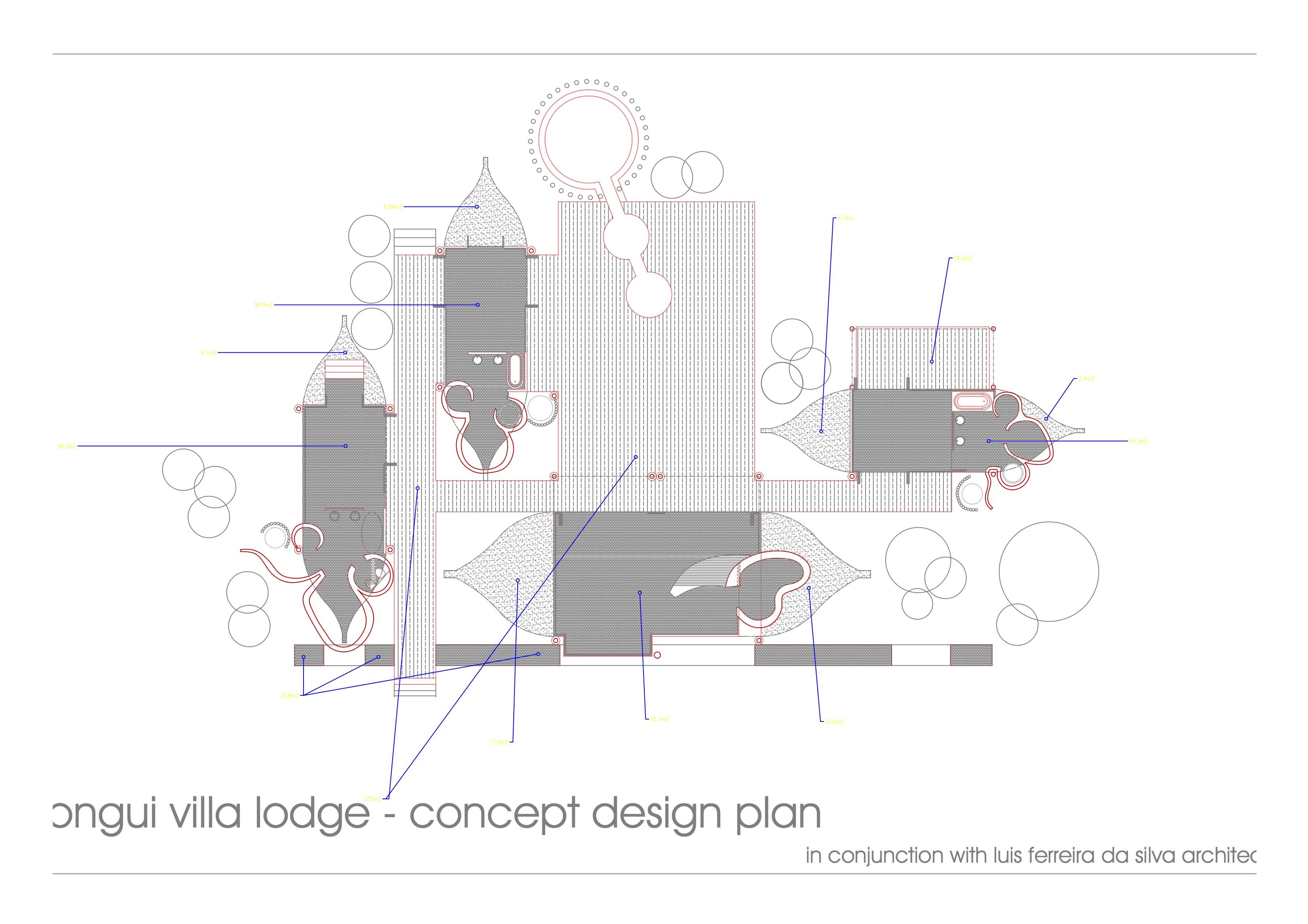 Rongui villa - concept plan