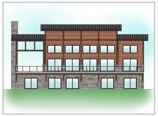 Conception de plan de maison à 4 chambres